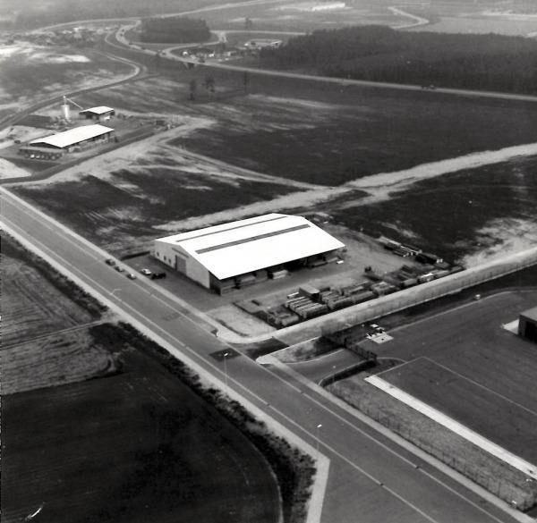 1976_Luftaufnahme-Lüneburg